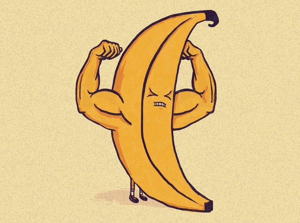 Вред и польза бананов