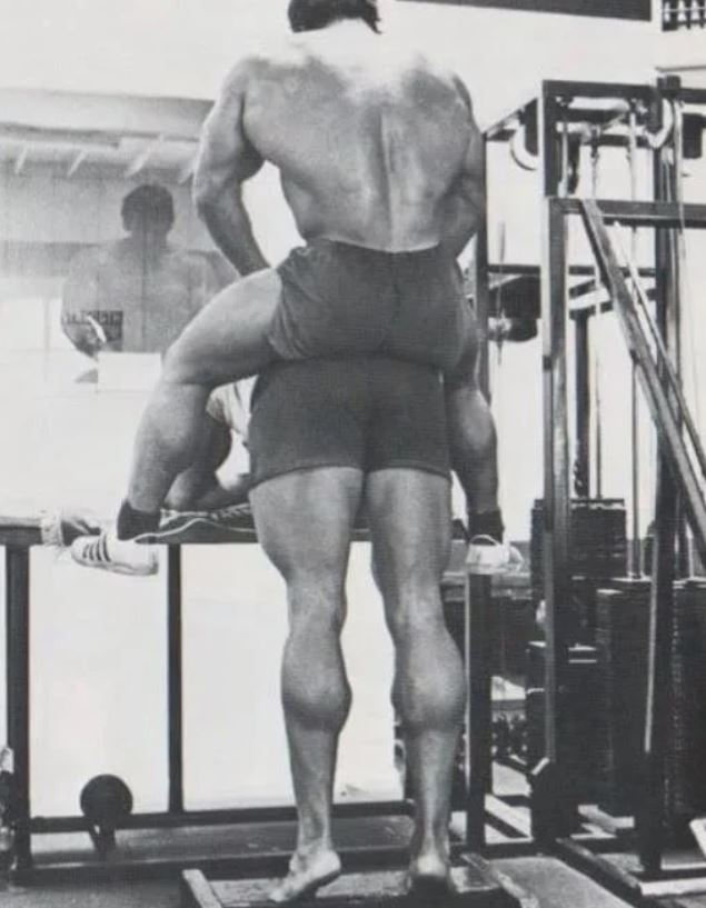 Упражнение Арнольда на икры